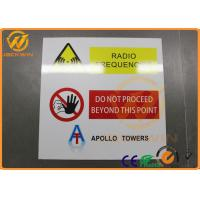 Wholesale Diamond Grade Reflective Traffic Warning Signs Waterproof Aluminum No Touch Signs from china suppliers
