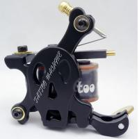 Wholesale Electroplate Handmade Tattoo Machine with Low Carbon Steel 10 Coil from china suppliers