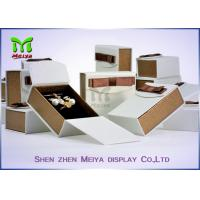 Wholesale Luxury Gift Ring and Necklace jewellery Packaging Box  With Ribbon from china suppliers