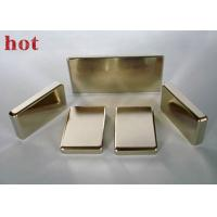 Wholesale Custom Very Strong Powerful Neodymium Block Magnets Axially Magnetized Magnets from china suppliers