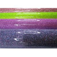 Wholesale Chunky Customized Colorful Glitter Pvc Fabric Soft Handfeeling For TV Background Wall from china suppliers