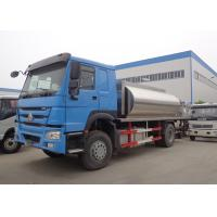 Wholesale HOWO 10MT Asphalt Patch Truck 4x2 6x4 8x4 With Stainless Steel Aluminum Tank from china suppliers