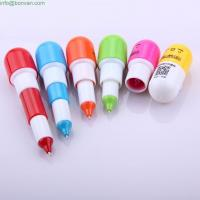 Wholesale cute cheap pill advertising mini ballpen,pill ball pen,retractable funny pen from china suppliers