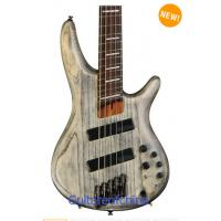Wholesale Ibanez SRFF805 Fanned Fret 5-string bass - Black Stained Ash from china suppliers