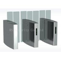Wholesale Full Height Simple Fast Outdoor Turnstile Security Gates Acrylic Or Soft Arm from china suppliers