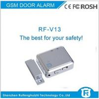 Wholesale Talking door alarm with door chain lock sms call monitoring rf-v13 from china suppliers