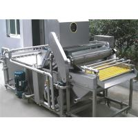 Wholesale Fruit Processing Machine Fruit Washer / Multifunction Fresh Fruit Washing Machinery 1T - 10T / H from china suppliers