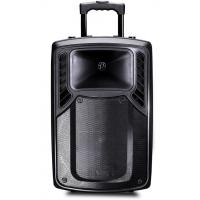 Wholesale Rechargeable Plastic Portable Trolley Speakers , Portable Active PA Speaker from china suppliers
