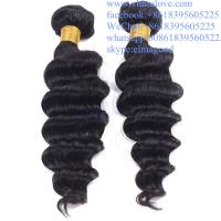 Wholesale high quality DHL Fedex fast delivery no shedding 100% virgin brazilian halo hair  extensions from china suppliers