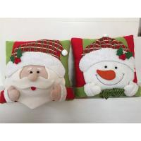 Wholesale christmas decoration stuffed fabric christmas cushions santa claus snowman from china suppliers