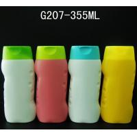 Wholesale 2015 New design children shampoo bottle, 355ml Lotion Bottle, PE bottle with flip top cap from china suppliers
