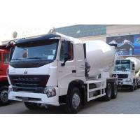 Wholesale Stable Concrete Transport Truck 371hp With Lengthen Cabin / 9m³ Cubage from china suppliers