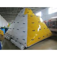 Wholesale 0.9mm PVC Tarpaulin Inflatable Iceberg Used In Lake / Seashore from china suppliers