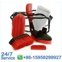 Wholesale 8 Pieces Red Horse Groom Brushes Horse Grooming Equipment  - BN5044 from china suppliers