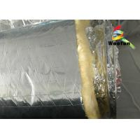 Wholesale Air Conditioning Aluminium Fire Retardant Flexible Round Duct Insulation Wrap Lightweight Yellow Cotton from china suppliers