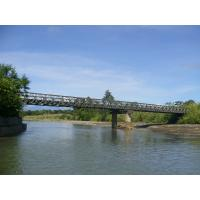 Wholesale Temporary Steel Deck Bailey Bridge Professional With High Strength from china suppliers