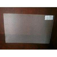 Wholesale Rhombus Perforated Metal Sheet , Steel Perforated Aluminium Sheet custom hole from china suppliers