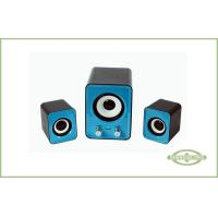 Wholesale Portable Blue Pure Sound Smart Multimedia Speaker , 2.1 Computer Speakers from china suppliers