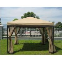 Wholesale Square Gazebo Patio Sun Shades With Mosquito Netting , Outdoor Wedding Tent from china suppliers