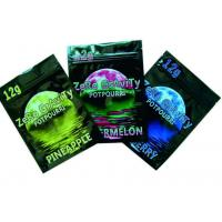 Wholesale Clear Window 10g  Herbal Incense Bags With Zipper Top Moisture Proof from china suppliers