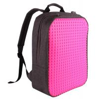 Wholesale DIY Upixel Classic Backpack–School Laptop Bag- 600D nylon silicon panels--new design freedom to express your creativity from china suppliers