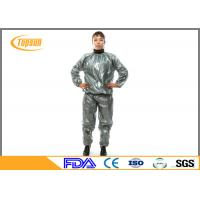 Wholesale PE / PVC Disposable Neoprene Sweat Suit For Losing Weight / Working Out from china suppliers