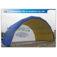 Wholesale Blue Arch Tent Hand Printing Inflatable Air Tent Dome Inflatable Stage for Event from china suppliers