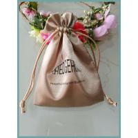 Quality customize silk satin gift bag, satin jewelry bag, satin cosmetic bag for sale