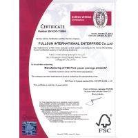 Fullsun International Enterprise Co.,Ltd Certifications