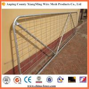Quality China galvanized farm gate ranch gates livestock gates metal farm gates for sale
