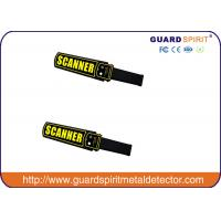 Quality Guard Spirit CE Approved High Sensitivity Security Handy Metal Detector With Rechargeable Battery for sale