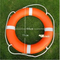 Wholesale Orange Plastic Life Buoy Inflatable Boat Accessories with SOLAS 1974/1996 from china suppliers