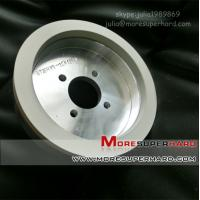 Wholesale 150*15*10-W5 Vitrified super-finishing diamond grinding wheel for pcd/pcbn from china suppliers