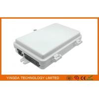 Wholesale Outdoor 4 Port Fiber Termination Box 1X4 Splitter Box SC/APC For Uncut Cable FTTX from china suppliers