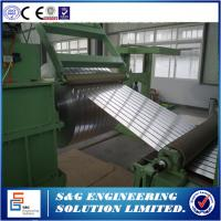 0.5mm - 3mm Durable Steel Coil Slitting Machine Hr Slitting Line 12T Capacity