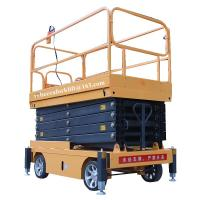 Wholesale Mobile scissor tables hydraulic electric 500kg 9m indoor scissor lift platform from china suppliers