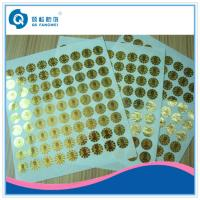 Buy cheap Self Adhesive Security Seal Labels , Void Warranty Tamper Proof Stickers from wholesalers