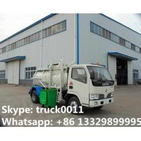 Wholesale 2017s hot sale Dongfeng 3,000L kitchen garbage truck, factory sale best price dongfeng swill garbage truck for sale from china suppliers