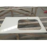 Wholesale Engineered Artificial Stone Slab Countertop With Sink Shape Ease Edged from china suppliers