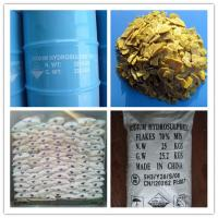 China Sodium Hydrosulfide Flakes 70% copper mine , leather ,water treatment on sale