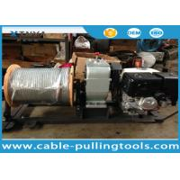Wholesale Honda Gas Engine Powered Winch Cable Pulling Tools With 300M Wire Rope from china suppliers