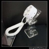 Wholesale Simple type acrylic anti-theft holder for smartphone clear fashion display cellphone stand from china suppliers