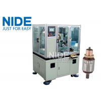 Wholesale Servo double cutter cnc armature Commutator Turning Machine lathe from china suppliers