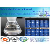 Buy cheap 25 Max Plastic Plasticizers CAS 112-27-6 Triethylene Glycol Hygroscopic Viscous from wholesalers