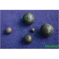 Buy cheap Diamater 2 inch customized iron cast steel balls for cement plant , power station from wholesalers