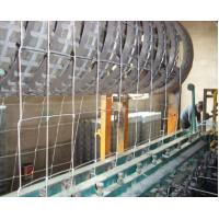 Wholesale 50*100, 50*150 Snow White Airport Security Galvanized Iron Wire Mesh Panel Fencing from china suppliers