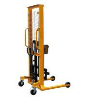 Wholesale 1.6m Lifting Height With 400Kg Load Eagle-gripper Type Hydraulic Drum Stacker from china suppliers