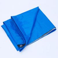 Easy Folded PE Tarpaulin Sheet color Customized For Truck Cover / Boat Cover