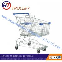 Wholesale Eco - friendly Exhibition Easy wheels Shopping Cart With Basket 150L from china suppliers