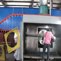 Wholesale Electrostatic Manual Liquid Painting Line For Metal Products from china suppliers